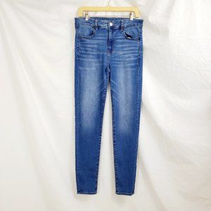 American Eagle Hi-Rise Jegging 12 Long Jeans Denim